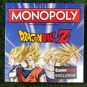 Dragon Ball Z Monopoly Gamestop Exclusive